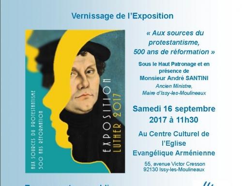 Exposition – Aux sources du protestantisme, 500 ans de réformation