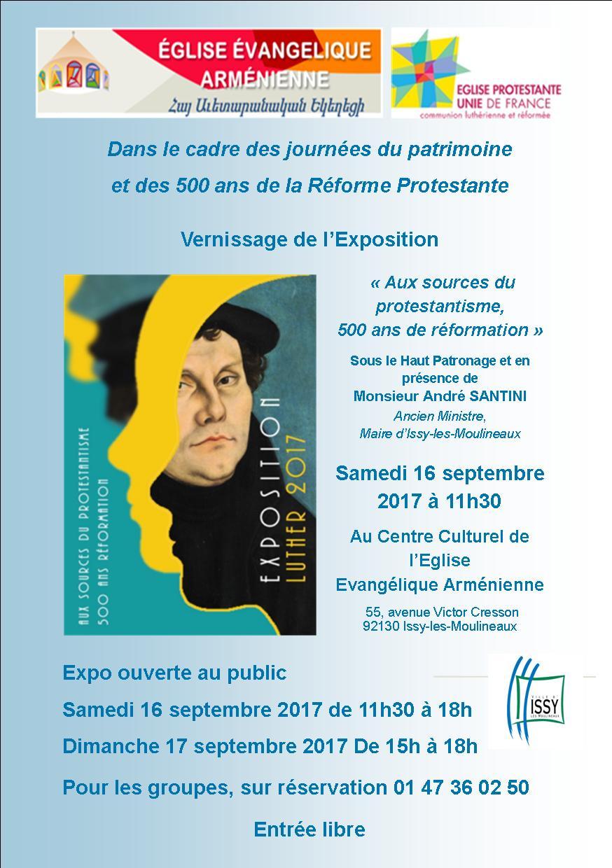 Exposition - Aux sources du protestantisme, 500 de réformation