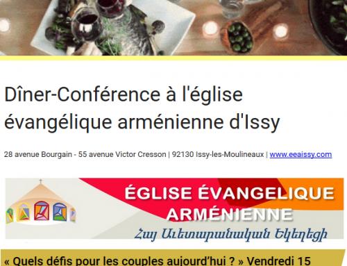 Dîner-Conférence