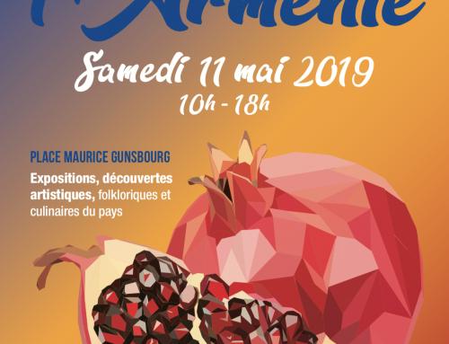Journée de l'Arménie à Clamart le 11 Mai