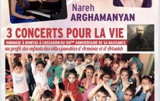 Concert des 30 ans d'Espoir pour l'Arménie