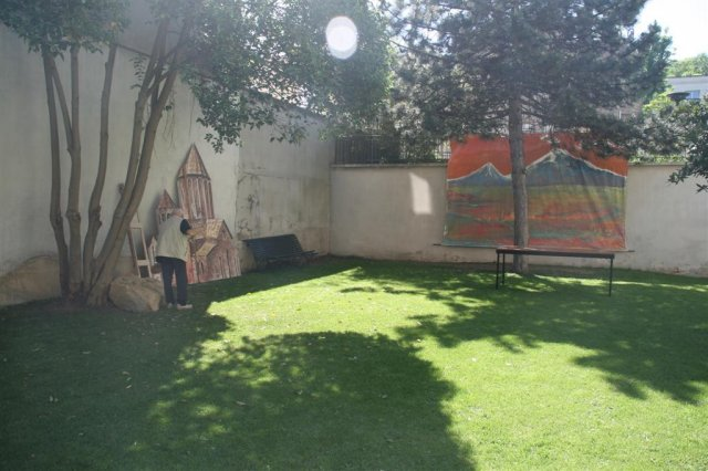 Eglise Issy jardin