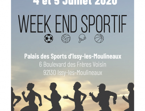 ⚽ 🏓 Inscription au SWET ⛹🏐  – Week-end sportif – Issy