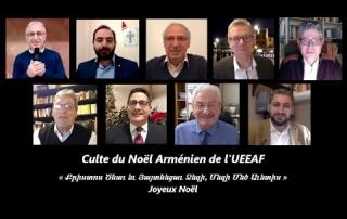 Célébration Noël Arménien 2021-Eglise Issy