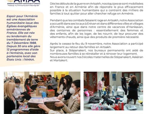 Espoir pour l'Arménie – Artsakh