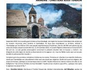 France2 – Programme tous témoins – Arménie : Chrétiens sous tension – 2021